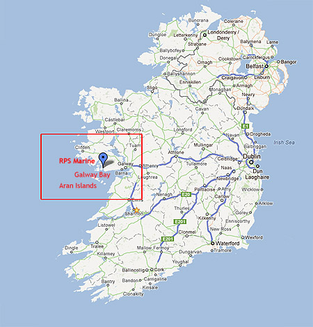 Map Of Ireland Please.Rossaveal Port Services Sample Website